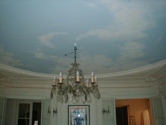peinture-décorative-ciel-tableau-tête-de-lit